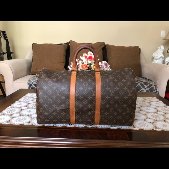 Louis Vuitton Handbags - SOLD SOLD!Authentic Louis Vuitton Keepall 45